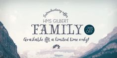 Check out the HMS Gilbert font at Fontspring.