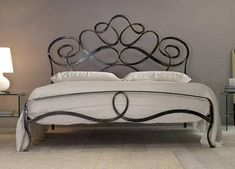 free bed beds frame wrought shipping iron