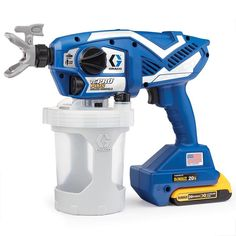 Graco TC Pro Plus Cordless Handheld Airless Paint Sprayer at Lowe's. Pros have proven the TC Pro Plus Cordless Handheld Airless Sprayer is the fastest way to finish small jobs. Powered by DEWALT, this handheld electric