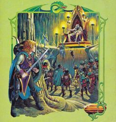 Larry Elmore cover for TSR D&D Endless Quest Book Return to Brookmere by Rose Estes, 1980