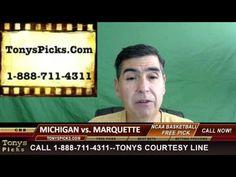 Michigan Wolverines vs. Marquette Golden Eagles Pick Prediction College ...