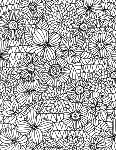 Alisa burke drawing and colouring in 2019 раскраски, узоры, Coloring Pages For Grown Ups, Flower Coloring Pages, Mandala Coloring Pages, Coloring Book Pages, Coloring Sheets, Alisa Burke, Atelier D Art, Flower Doodles, Print Patterns
