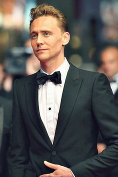 Tom Hiddleston in a tux. your argument is invalid.