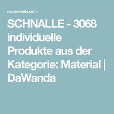 SCHNALLE - 3068 individuelle Produkte aus der Kategorie: Material | DaWanda
