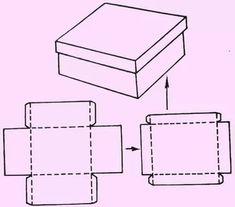 сделать коробку из картона своими руками с крышкой: 14 тыс изображений найдено в Яндекс.Картинках