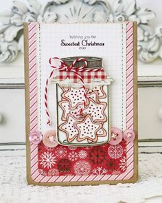 Scw2 Love this Christmas card by Melissa Phillips using Friendship Jar series of stamps from Papertrey Ink!  Gorgeous!!!!!