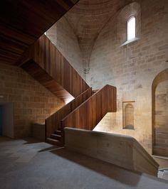 San Telmo Museum in San Sebastian, refurbished by Nieto Sobejano architects.