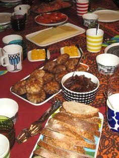 finnish breakfast at marimekko hq, helsinki; photo by stylecarrot  #pintofinn