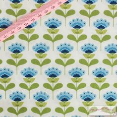 Tilda Molly Blue Fabric  / Summer Blues Collection by FabriClutter, £6.75