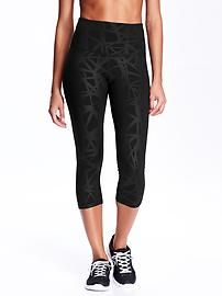 Women's High-Rise Compression Capris