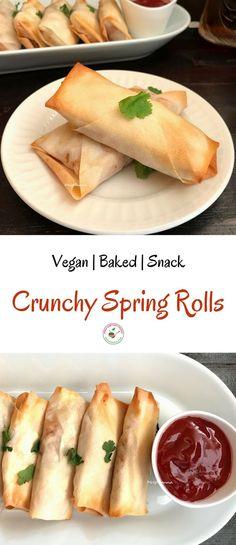 Crunchy Spring Rolls