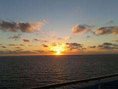 amanecer en el mar egeo