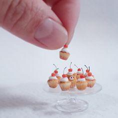 Miniature cupcakes ♡ ♡ By Mayumi