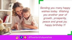 Happy Birthday Mother Images Free Download - Happy Birthday Wishes Happy Birthday Mom Images, Happy Birthday Mother, Mom Birthday Quotes, Special Birthday, Happy Birthday Wishes, Image Mom, Mother Images, Happy Wishes, Mother Quotes