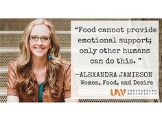 Alexandra Jamieson returns to the show to discuss her outstanding, new book Women, Food, and Desire. Topics include the 4 root causes of food cravings, what your cravings have to do with unfulfilled desires, how transform your food habits, and why diets almost ALWAYS fail. Hosted by Sean Croxton of Underground Wellness.