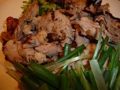 In celebration of Chinese New Year!  Roast Duck with Plum Sauce