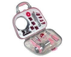 Theo Klein 5855 Brau- Valigetta con asciugacapelli e accessori | Your #1 Source for Beauty Products