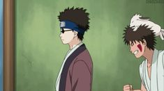 Shino Aburame and Kiba Inuzuka | via Tumblr