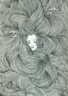 Run your fingers through your hair.  This picture discribed how i feel with my hair sometimes!