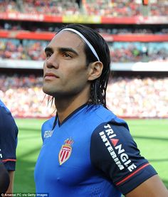 Fed up: Radamel Falcao is seeking a move away from Monaco as he grows tired of life in Fra...