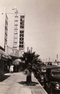 Les Brown and his Orchestra playing at the Hollywood Palladium Sunset Blvd.), in (Bizarre Los Angeles) California Dreamin', Los Angeles California, California History, Vintage California, Santa Monica Blvd, San Luis Obispo County, San Fernando Valley, Sunset Strip, Hooray For Hollywood
