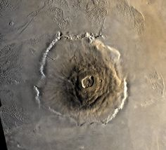 Volcanic Activity on Ancient Mars May Have Produced Organic Life