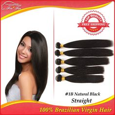 brazilian virgin hair straight weave bundles 5pcs lot rosa hair product 12-30inch Mixed length Best quality human hair exrension $116.75 - 293.75