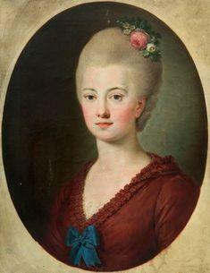 Cecylia Sanguszko née Potocka   Cecylia z Potockich Sanguszkowa (1747-1772)