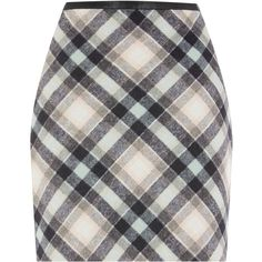 Oasis Minimal Mint Check Marley Skirt ($47) ❤ liked on Polyvore featuring skirts, mini skirts, women skirts, oasis skirts, mint mini skirt, checkered skirt, short skirts and mint green mini skirt