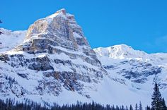 Cross-country skiing or snowshoeing the 5 km unmarked trail up the Chickadee Valley in Kootenay National Park puts you in a gorgeous high alpine environment Cross Country Skiing, Mount Everest, Trail, National Parks, Hiking, Canada, Mountains, Places, Outdoors