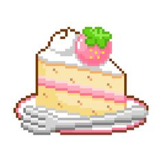 Find Cake Pixel Art stock images in HD and millions of other royalty-free stock photos, illustrations and vectors in the Shutterstock collection. Cute Pixels, Pixel Art Food, Discord Emotes, Kawaii Chibi, Aesthetic Stickers, 8 Bit, Cute Icons, Pastel Goth, Free Coloring
