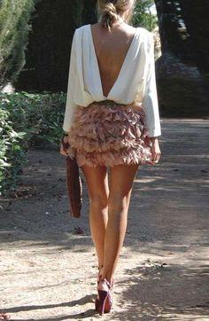 Faldas cortas de fiesta para el otoño/invierno 2016-2017 (Foto)   Ellahoy
