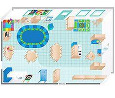 Creative curriculum preschool classroom floorplans for Preschool classroom layout maker
