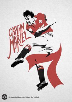 Bryan Robson of Man Utd wallpaper. Manchester United Images, Manchester United Legends, Manchester United Players, Bryan Robson, Man Utd Crest, United We Stand, Football Wallpaper, Man United, Football Fans