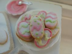 Frosted Easter egg cookies 1:12 | Flickr - Photo Sharing!