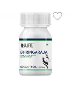 Buy Best INLIFE Bhringaraja Extract 500 mg, 60 veggie capsule(s) Hair Care, Food, Products, Essen, Hair Care Tips, Meals, Hair Makeup, Yemek, Gadget