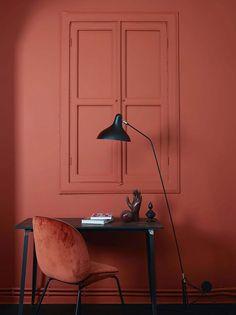Терракотовый и другие - красивые цвета осени в интерьере | Пуфик - блог о дизайне интерьера
