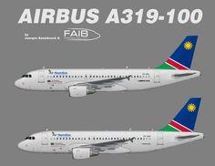 Air Namibia Airbus A319-100