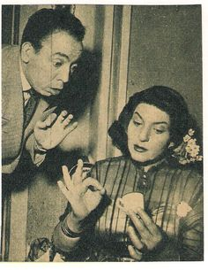 ISMAEL YASSINE ET ZEINAT SIDQI Egypt Movie, Egyptian Movies, Egyptian Beauty, Arab Celebrities, Egyptian Actress, Old Egypt, Black Women Art, Arabian Nights, Famous Artists