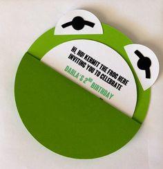 Kermit the Frog Invitations- Set of 10