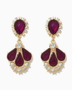 Champagne Shower Earrings | #COTM Purple | #charmingcharlie