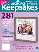 Creating Keepsakes January/ February 2012