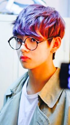 Bts V. There's always that one member who always changes their hair style or color like every other day.