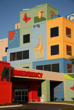 Edinburg, Texas' children's hospital.