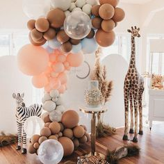 Let's go on a Safari Ride! All aboard as we enter Ruhan's birthday party! Watch out for the Tiger! 🐅 Ruhan's Safari Party is now live… Baby Party, Baby Shower Parties, Baby Shower Themes, Baby Boy Shower, Gender Neutral Baby Shower, Baby Shower Balloons, Shower Ideas, Safari Party, Balloon Decorations