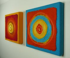 Planets Nuno Felt Artworks 3 by Natasha Smart Design, via Flickr