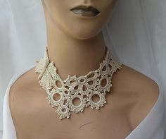 https://flic.kr/p/6tGCKG | Let it fly... | This choker is so pretty, i really love it, the butterfly on one side is very textured, I love how the textured looks on this color, it really gives a lot of interest. The intricate design on the rest of the choker takes lots of dedication, because of all the tiny stitches, but at the end, looks lovely :-)  I am going to send it to the fashion show as well :-)