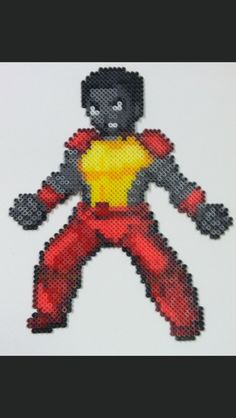 Colossus Perler & Hama Beads by Thewiredslain of Deviantart