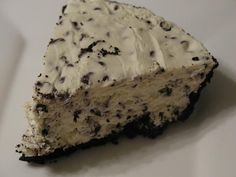Stop and Smell the Chocolates: No-Bake Chocolate Chip Cheesecake
