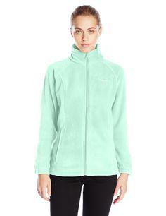 Columbia Women's Benton Springs Full-Zip Fleece Jacket, Sea Ice, Large